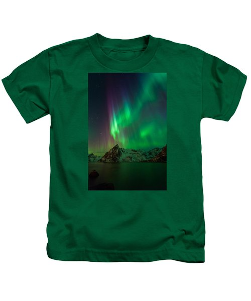 Curtains Of Light Kids T-Shirt