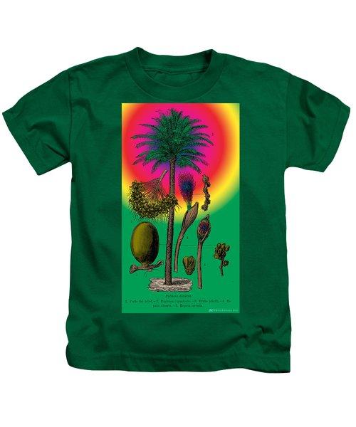 Date Palm Kids T-Shirt
