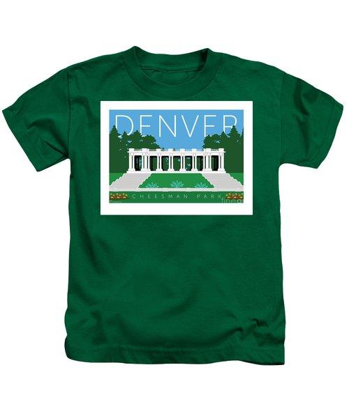 Denver Cheesman Park Kids T-Shirt