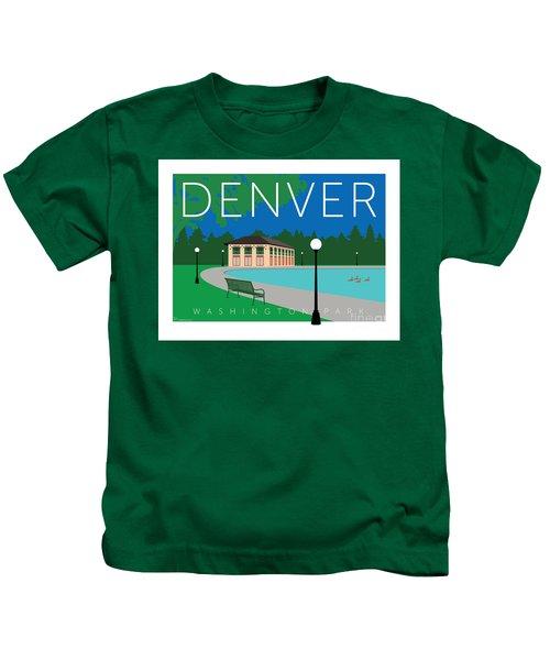 Denver Washington Park Kids T-Shirt