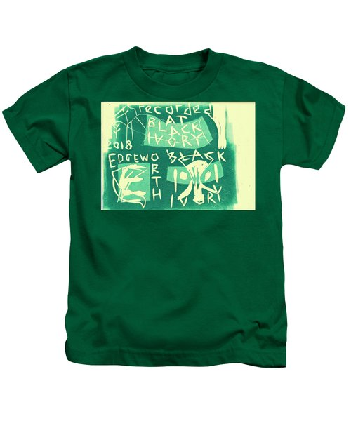 E Cd Green Kids T-Shirt