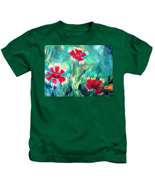 East Texas Wild Flowers Kids T-Shirt