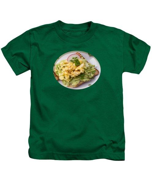 Egg Sandwich Kids T-Shirt by Mc Pherson