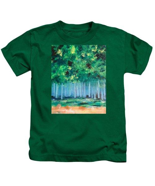 Enchanted Poplars Kids T-Shirt