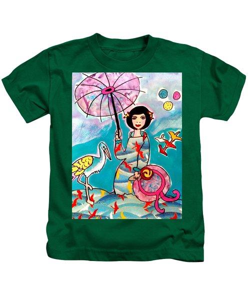 Flight Of The Cranes 1 Kids T-Shirt
