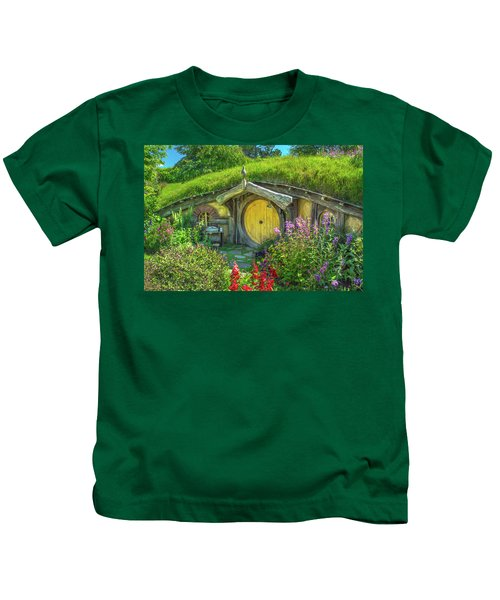 Flowers In The Shire Kids T-Shirt