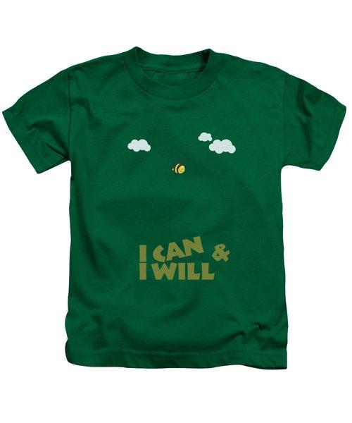 Inspirational Motivational Quotes Poster Kids T-Shirt