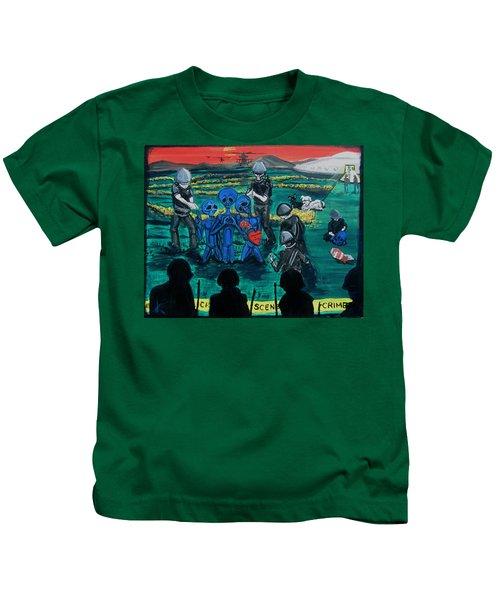 Intergalactic Misunderstanding Kids T-Shirt