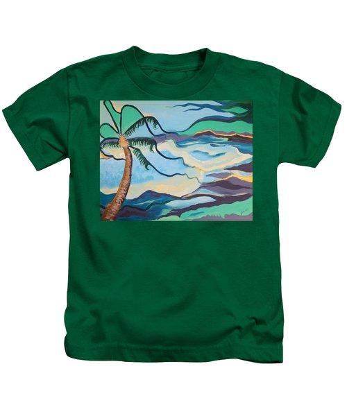 Jamaican Sea Breeze Kids T-Shirt