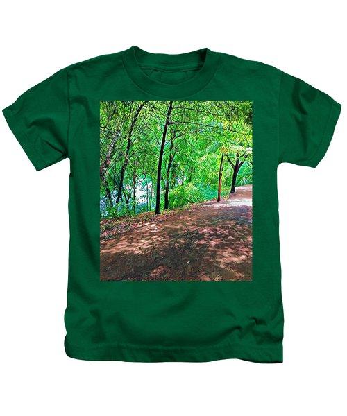 Lady Bird Trail Kids T-Shirt