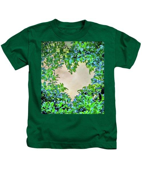 Love Leaves Kids T-Shirt