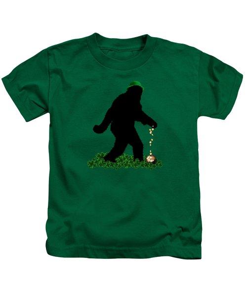 Lucky Sasquatch Kids T-Shirt
