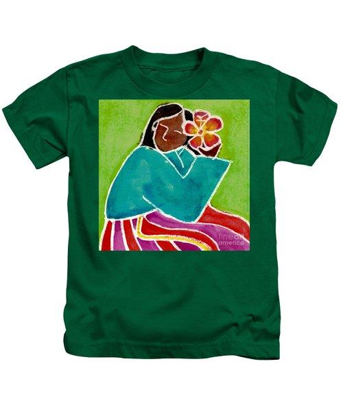 Native Girl Kids T-Shirt