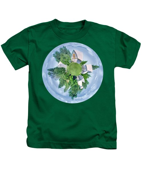 Nebraska Farm - Transparent Kids T-Shirt
