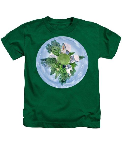 Nebraska Farm - Transparent Kids T-Shirt