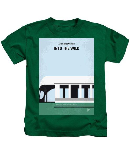 No677 My Into The Wild Minimal Movie Poster Kids T-Shirt