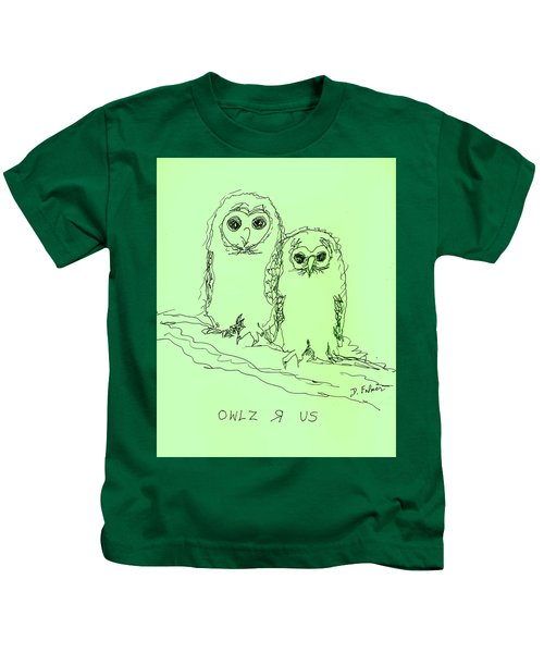 Owlz R Us Kids T-Shirt