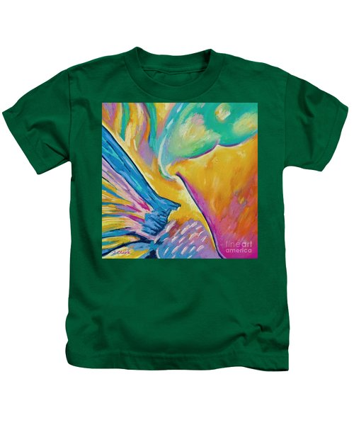 Parrotfish 1  Square Kids T-Shirt