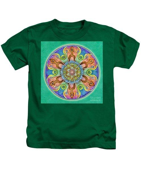 Patience Mandala Kids T-Shirt