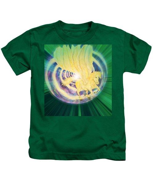 Pegasus Earth Energy Kids T-Shirt