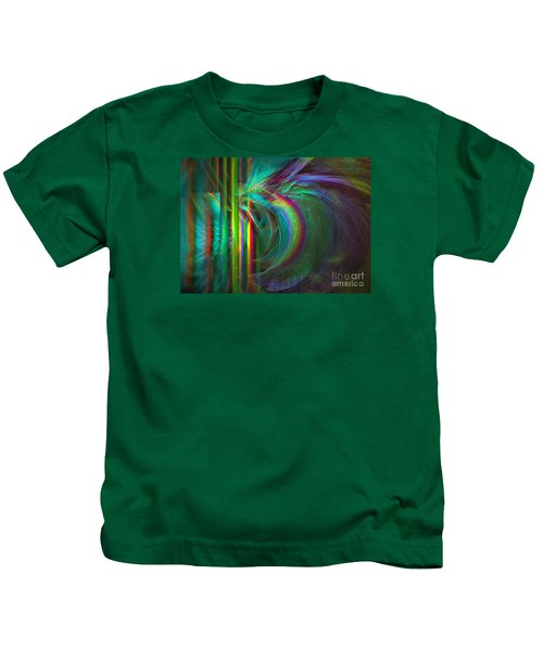 Penetrated By Life - Abstract Art Kids T-Shirt
