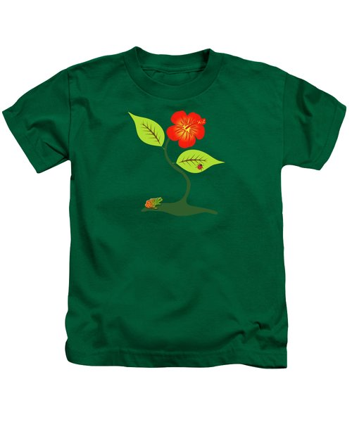 Plant And Flower Kids T-Shirt