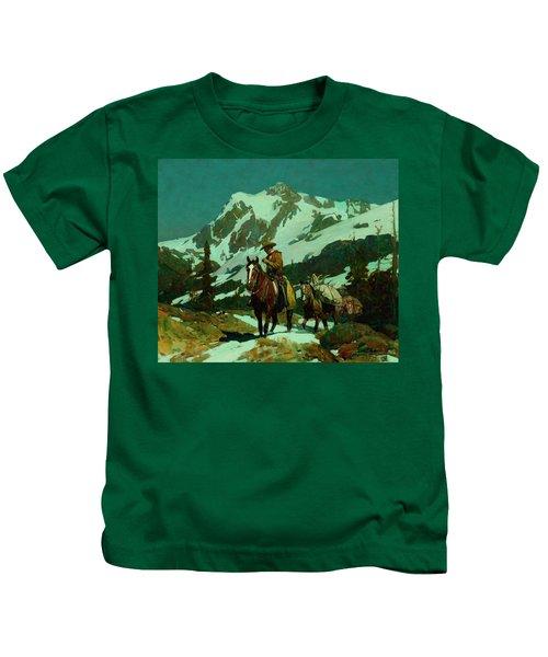 Return From The Hunt Kids T-Shirt
