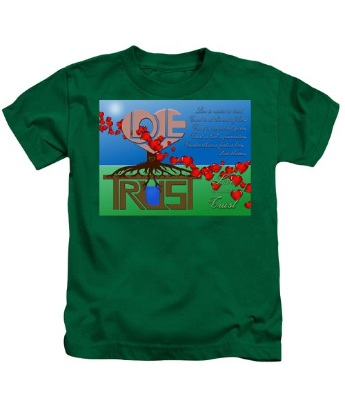 Rooted In Trust Kids T-Shirt