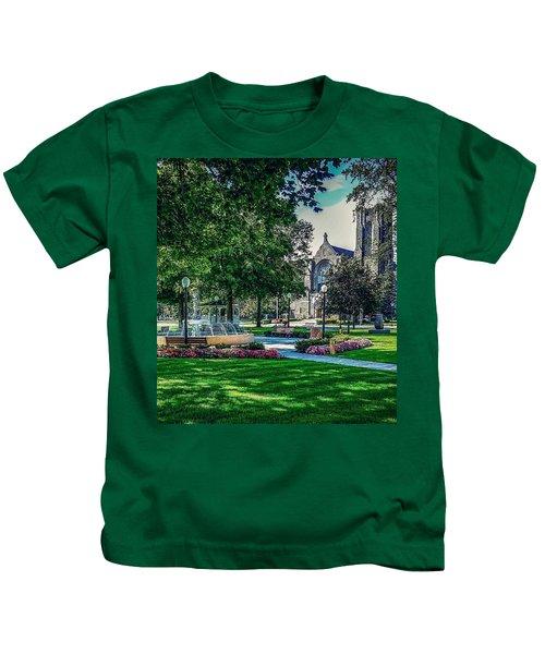 Summer In Juckett Park Kids T-Shirt