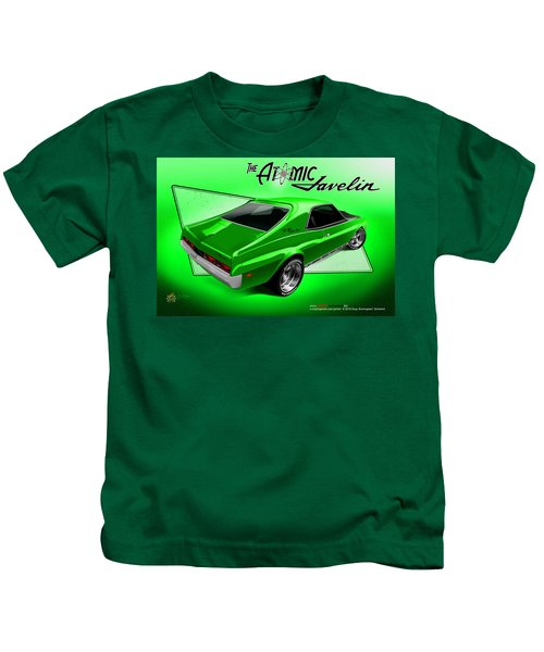 The Atomic Javelin Rear Kids T-Shirt