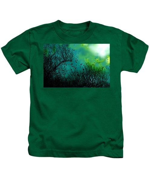 The Birds Of The Air  Kids T-Shirt