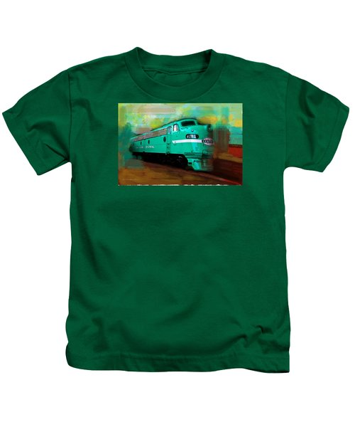 Flash II  The Ny Central 4083  Train  Kids T-Shirt