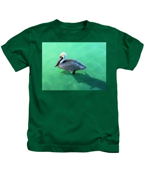 The Pelican And The Shark Kids T-Shirt