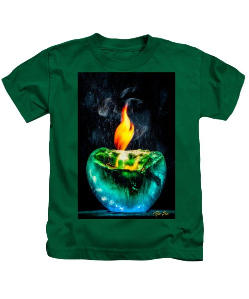 The Winter Of Fire And Ice Kids T-Shirt