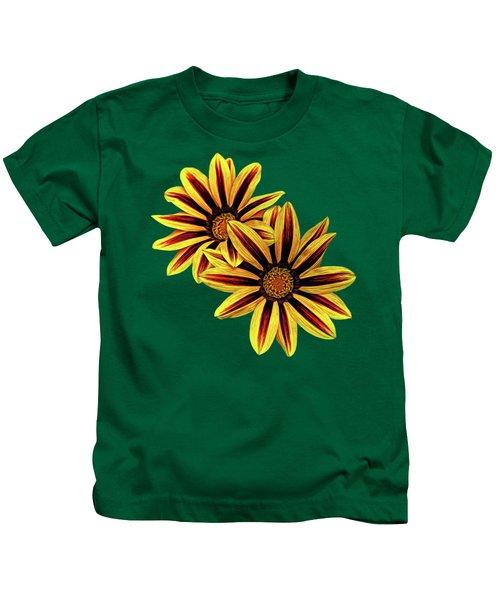 Treasure Flowers Painted Kids T-Shirt