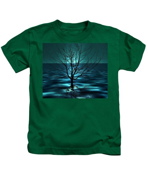 Tree In Ocean Kids T-Shirt
