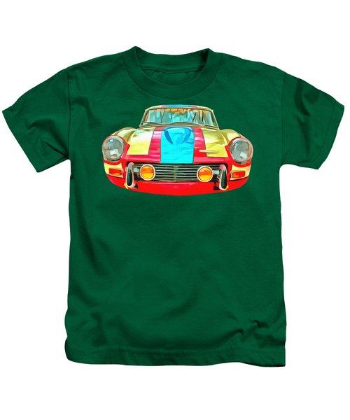 Triumph Gt6 Plus Transparent Kids T-Shirt