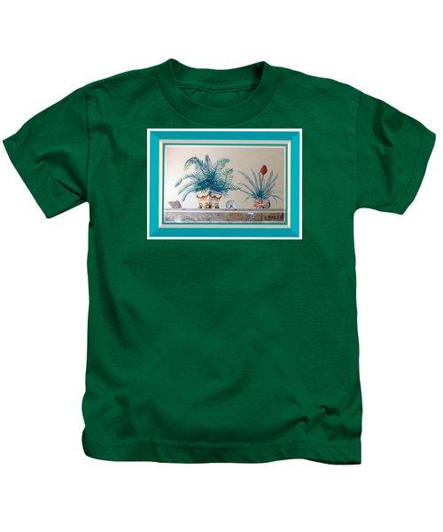 Trompe L'oeil Plants Kids T-Shirt