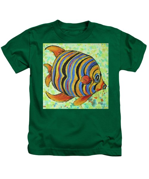 Tropical Fish Series 4 Of 4 Kids T-Shirt