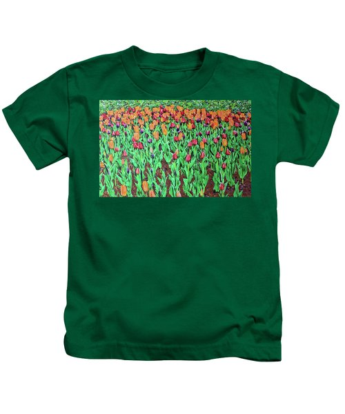 Tulips Tulips Everywhere Kids T-Shirt