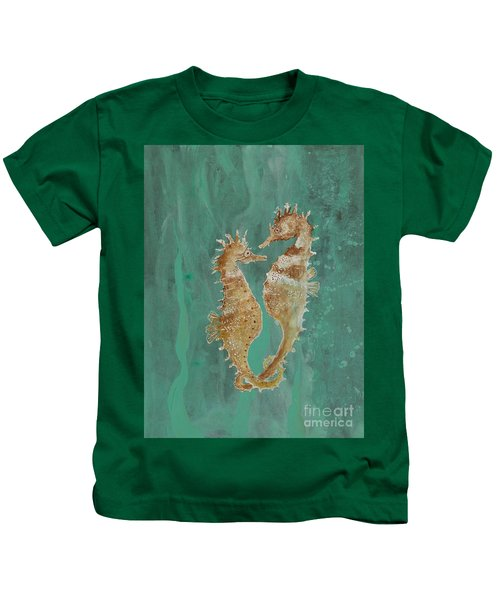 Two Seahorse Lovers Kids T-Shirt