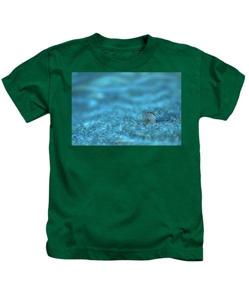 Underwater Seashell - Jersey Shore Kids T-Shirt
