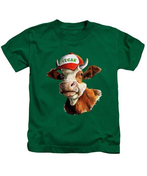 Vegan Kids T-Shirt by Anthony Mwangi