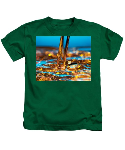 Water And Oil Kids T-Shirt