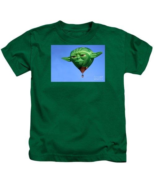 Yoda In The Sky Kids T-Shirt