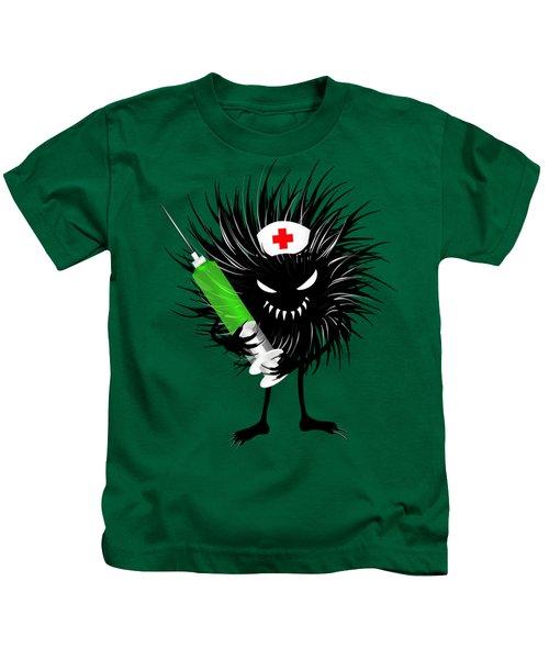 Cool Evil Bug Nurse Kids T-Shirt