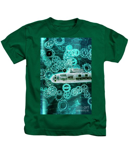 Depth Charged Kids T-Shirt