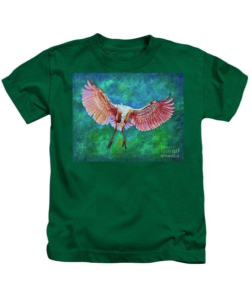 Fledgling Flight Kids T-Shirt