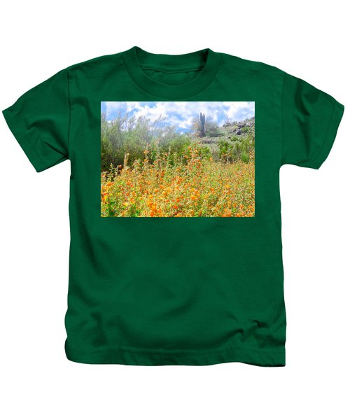 Heavenly Home In Arizona Kids T-Shirt