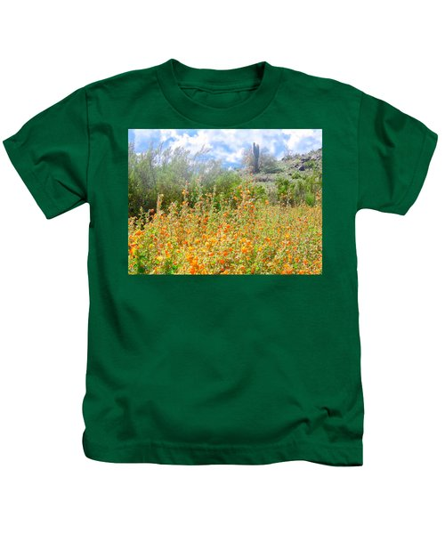 Kids T-Shirt featuring the photograph Heavenly Home In Arizona by Judy Kennedy